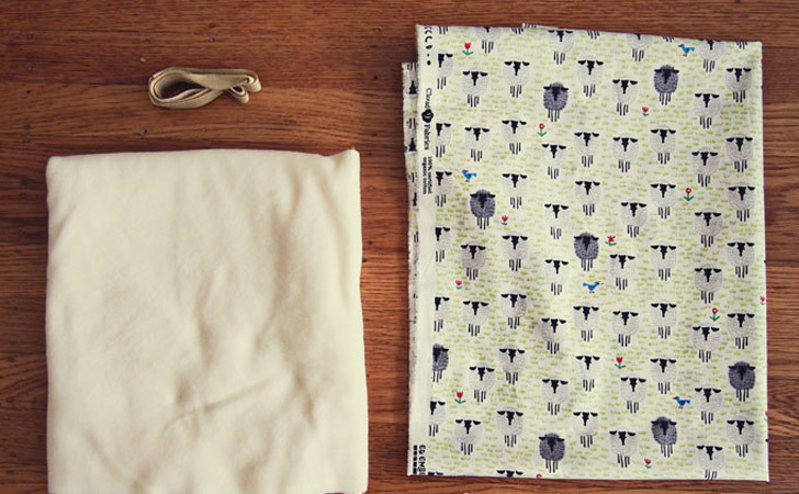 free-sewing-pattern-baby-swaddle-wrap-materials