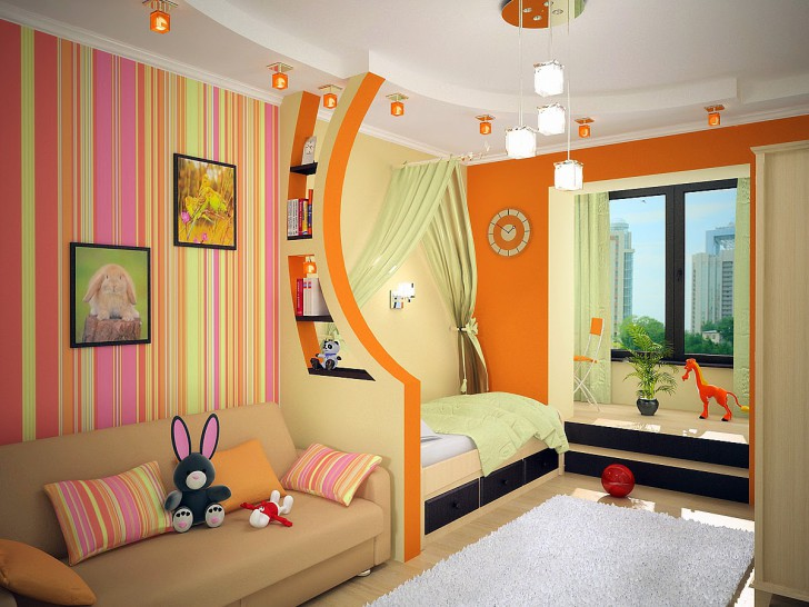 kids-room-ideas-drywall-shelves-divides-the-room