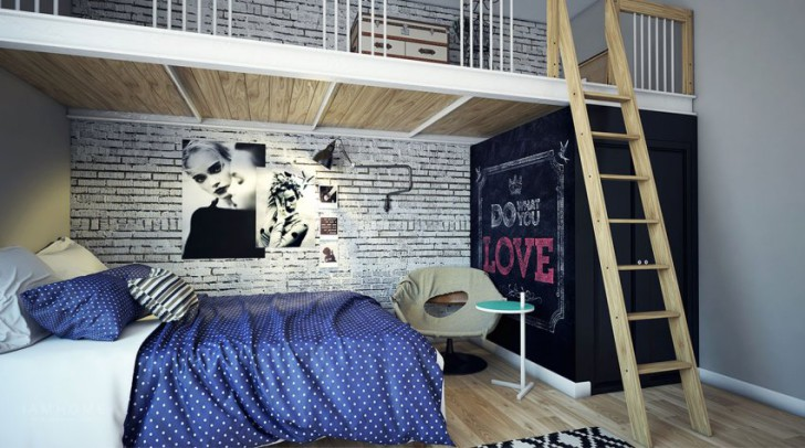 room-designs-for-teens-cool-beds-kids-bunk-with-slide-desk-girls-loft-headboards-black-wood-hipster-decor-diy-vintage-artsy-ideas-retro-bedroom-tumblr-rooms-storage-inspired-850x474